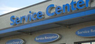 Service center near Meadville Pennsylvania