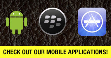 Check out our mobile applications!