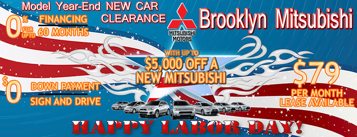 Brooklyn Mitsubishi Is An Auto Dealer For Sales Service And Parts With Lease And Finance