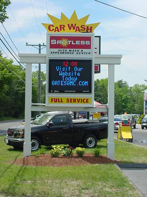 car wash sign in connecticut